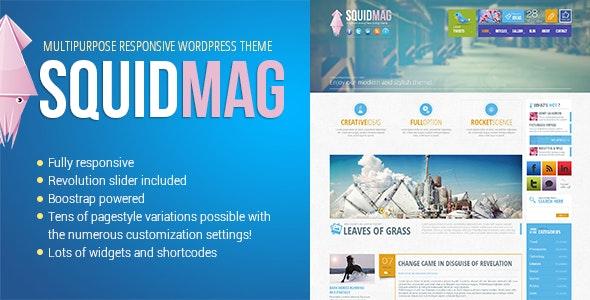SquidMag - Responsive Multi-Purpose Theme - Portfolio Creative