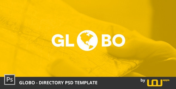 Globo - Directory PSD Template - Miscellaneous Photoshop
