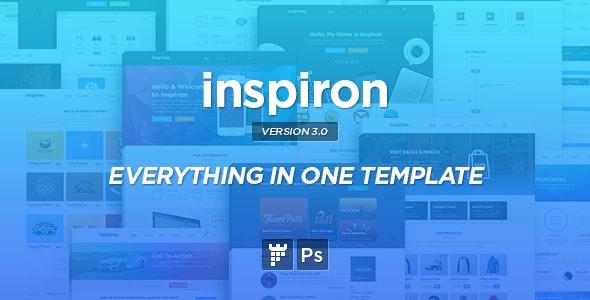 inspiron - Corporate Multipurpose PSD Template - Corporate Photoshop