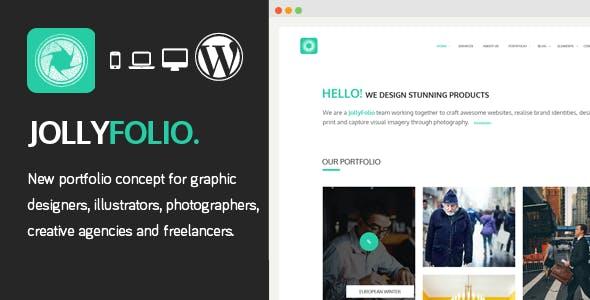 Jollyfolio - Creative Responsive WordPress Theme