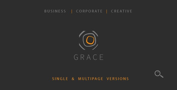 Grace – Single & Multipage Theme