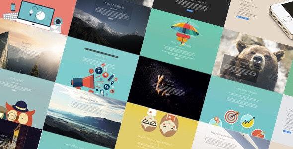 Jelly - Full Screen Creative Portfolio WP Theme - Creative WordPress