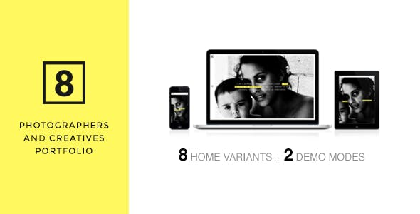 EIGHT - Portfolio for Photographers & Creatives