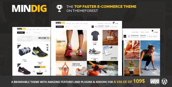 Mindig: a Flat & Multipurpose Ecommerce Theme - WooCommerce eCommerce