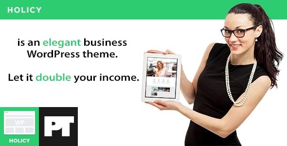 Holicy - Multipurpose Responsive WordPress Theme - Business Corporate