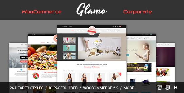 Glamo - Responsive WordPress Ecommerce Theme - WooCommerce eCommerce