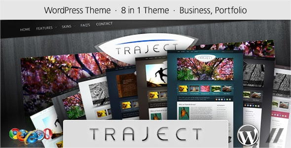 Traject - WordPress Portfolio and Business Theme - Marketing Corporate