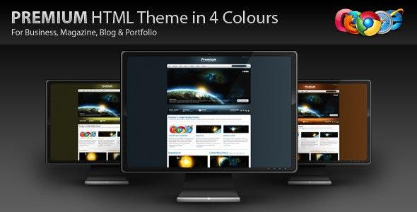 PREMIUM - HTML Business, Blog, Magazine Site - Business Corporate