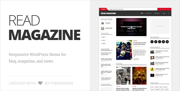 ReadMagazine - WordPress Theme for Blog & Magazine - Blog / Magazine WordPress