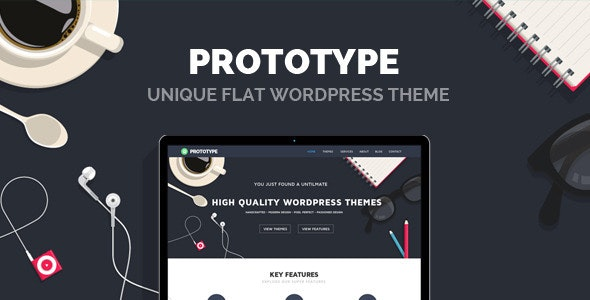 Prototype - Flat Wordpress Theme - Portfolio Creative
