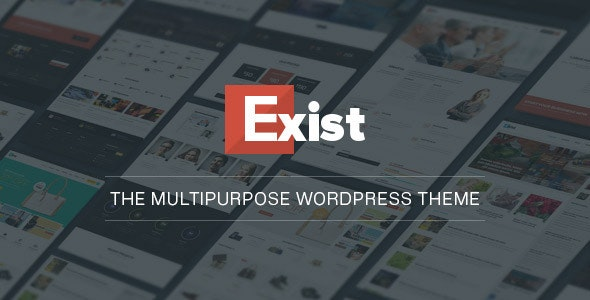Exist Multi-Purpose WordPress Theme - WooCommerce eCommerce
