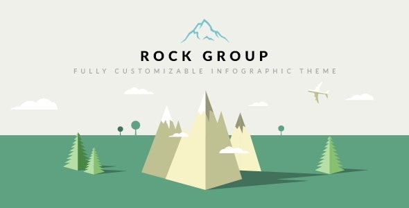 Rock Group | Multipurpose Infographic Theme - Creative Site Templates