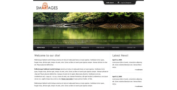 Smartages - Corporate Site Templates