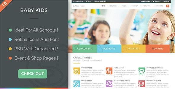Baby Kids - Education Primary School For Children - Children Retail