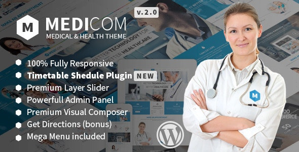 Medicom - Medical & Health WordPress Theme - Health & Beauty Retail
