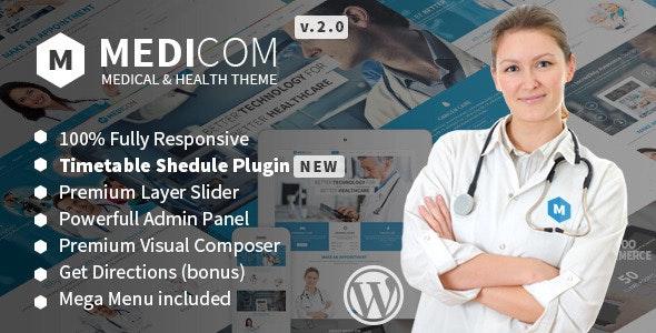 Medicom - Medical & Health WordPress Theme - Health & Beauty Retail