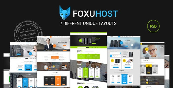 Foxuhost - Hosting / Business Template - Hosting Technology