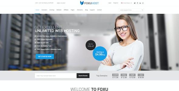 Foxuhost - Hosting / Business Template