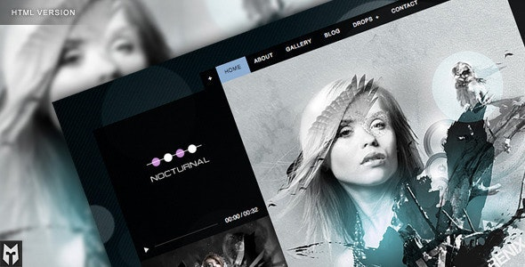 Nocturnal: Premier Audio HTML Theme - Nightlife Entertainment