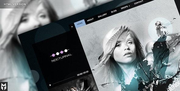 Nocturnal: Premier Audio HTML Theme - Nightlife Entertainment