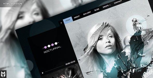 Nocturnal: Premier Audio HTML Theme