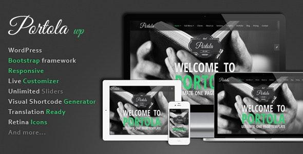 Portola WordPress Theme - Creative WordPress