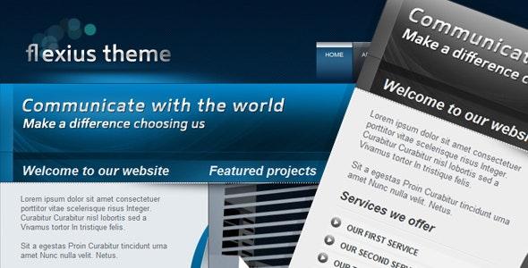 Flexius Theme | Business & Portfolio Template - Business Corporate