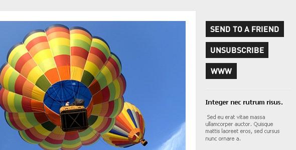 Urban Magazine - Newsletter & Alert Template - Newsletters Email Templates