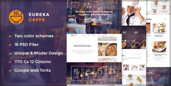 Eureka – Multipurpose PSD Template - Retail Photoshop
