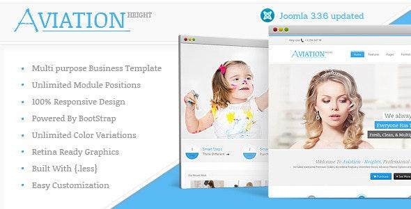 Aviation - Responsive Multi-Purpose Joomla Theme - Business Corporate