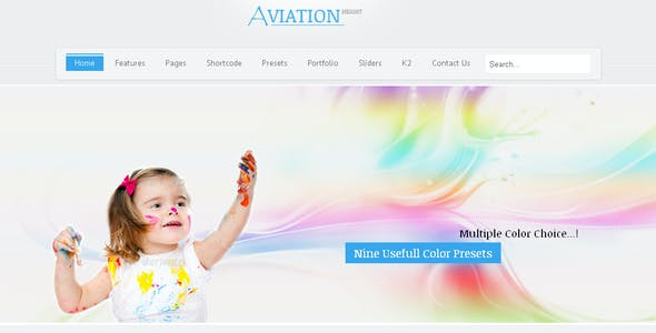 Aviation - Responsive Multi-Purpose Joomla Theme
