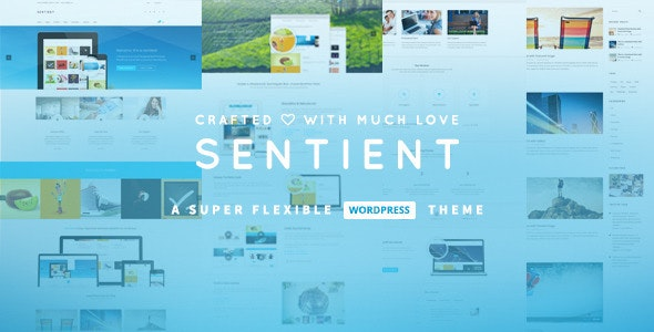 Sentient - Responsive Multi-Purpose WP Theme - Corporate WordPress