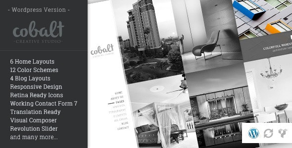 Cobalt - Responsive Architect & Creatives WP Theme - Creative WordPress