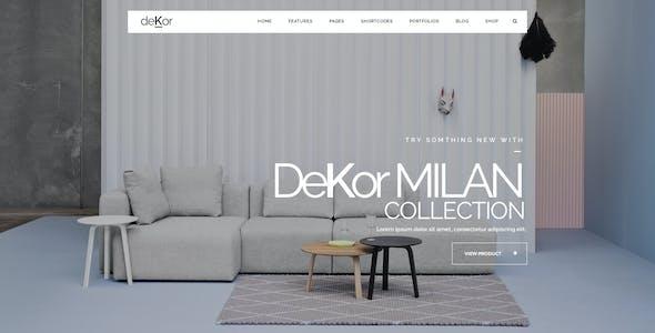 deKor - Responsive Interior HTML Template