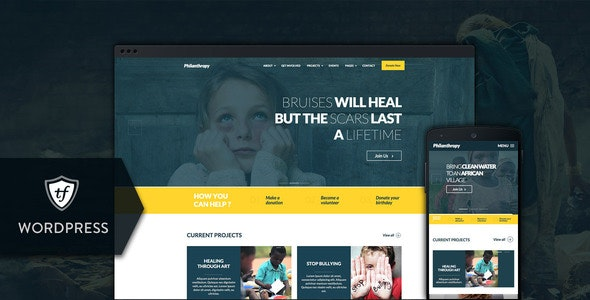 Philanthropy - Nonprofit WordPress Theme - Charity Nonprofit