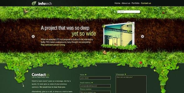 Path -- a corporate website.