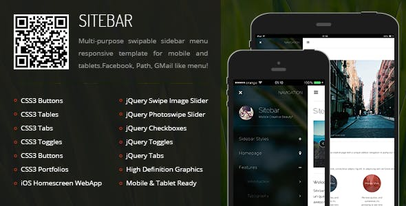 Sitebar Mobile