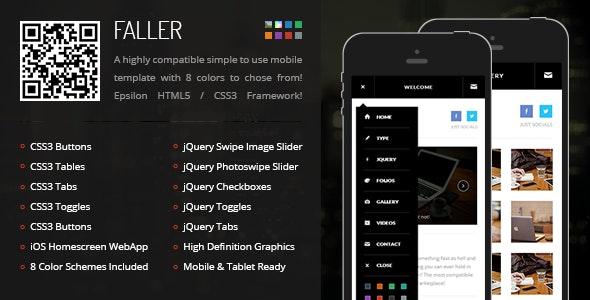 Faller Mobile - Mobile Site Templates