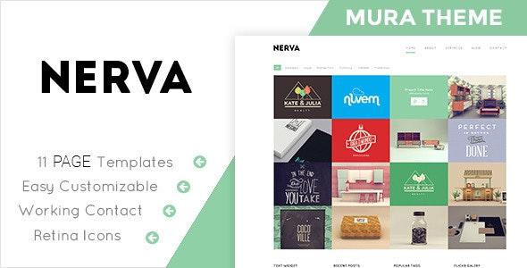 Nerva - Responsive Mura Theme - Mura CMS Themes