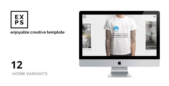 EXPOSE - Enjoyable Portfolio - Creatives & Agency - Portfolio Creative