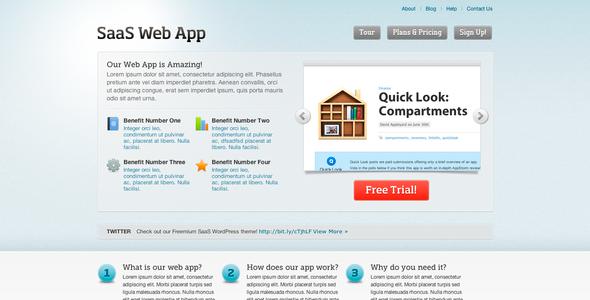 Freemium SaaS II HTML Theme - Technology Site Templates