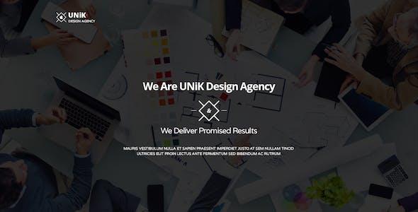 UNiK - Multi-Purpose Parallax Template