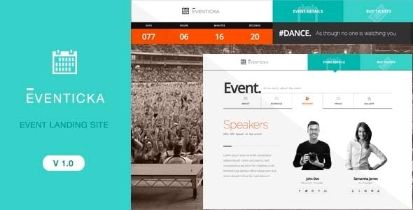 Eventicka | Event Landing Page & Ticketing - Events Entertainment