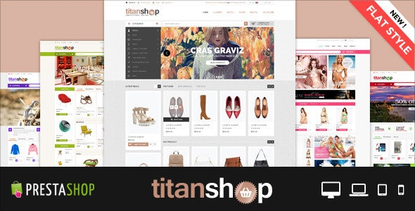 Fashion Store Mega Mall Shopping Center Premium Responsive PrestaShop Themes | TitanShop - Shopping PrestaShop