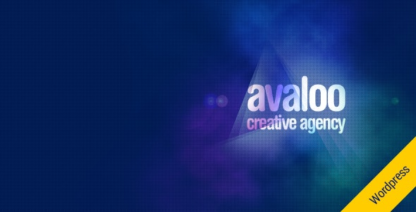 avaloo - One Page Creative Agency WP Theme - Portfolio Creative