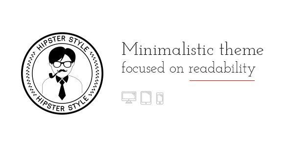 BLG - Minimalistic Theme Focused on Readability - Personal Blog / Magazine