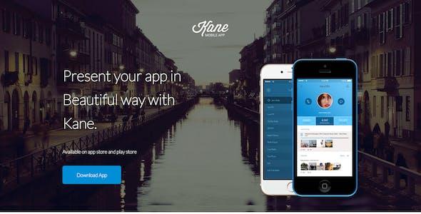 Kane - Unbounce App Landing Page