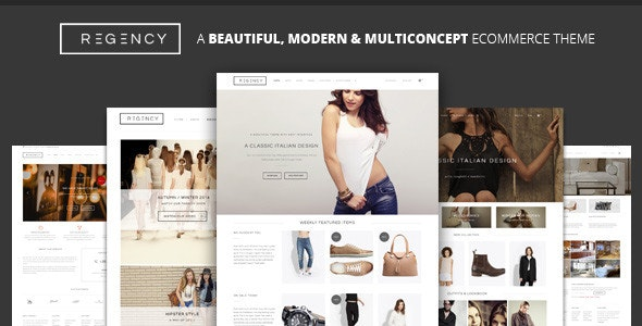 Regency: A Beautiful & Modern Ecommerce Theme - WooCommerce eCommerce