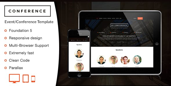 Conference - HTML Template