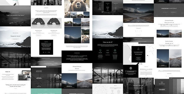 15 by Alaja - Fast & Responsive HTML5 Template Kit - Photography Creative